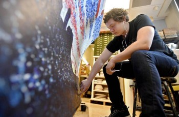 BEA Students Bring Book Bench to Life