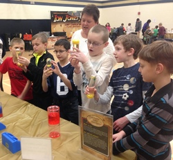 Traveling Science Program Visits Wingate Elementary