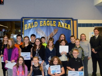 School Students Honored for Scoring in the Top Ten Percent of 2014 PSSA Scores